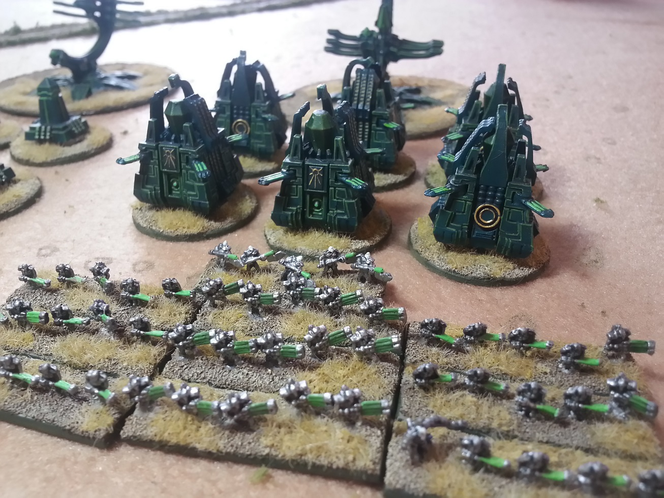 DIY Epic or Make Your Own Epic Necron Army! | Xenocidal's
